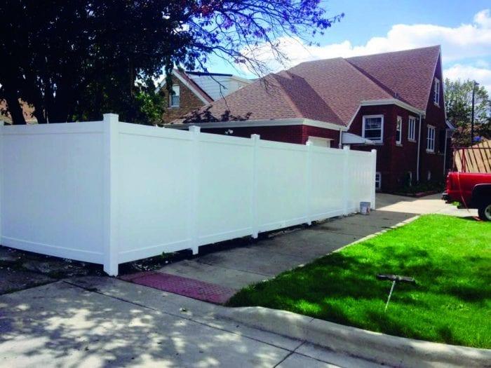Vinyl Fence Installation, Vinyl Fence company Chicago
