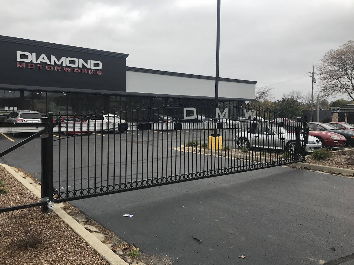 Reinforce the security of your business with our Automatic Security Gate Company