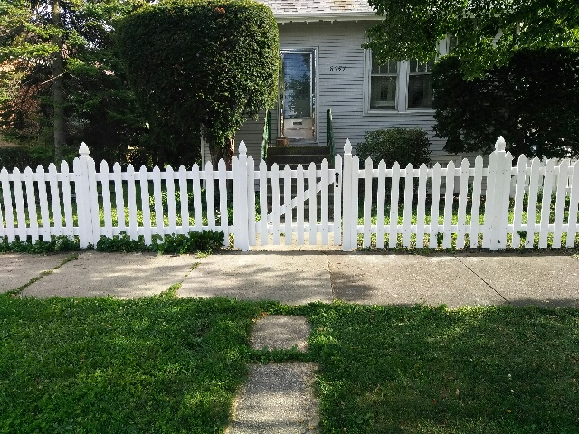 Picket Wood Fence Styles-wood fence installation near me
