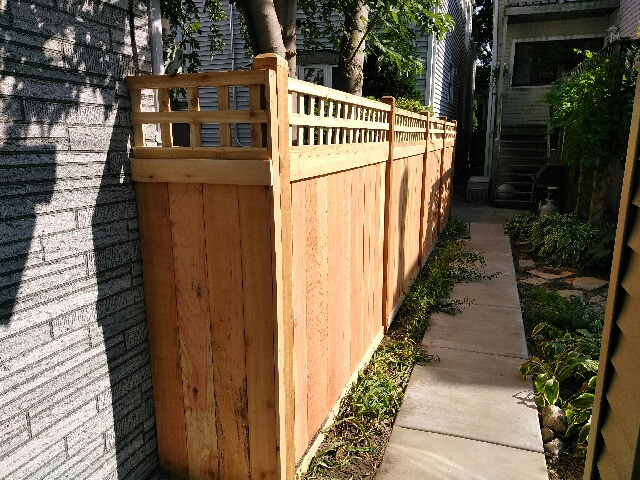 Shadowbox Wood Fence Styles-wood fencing companies