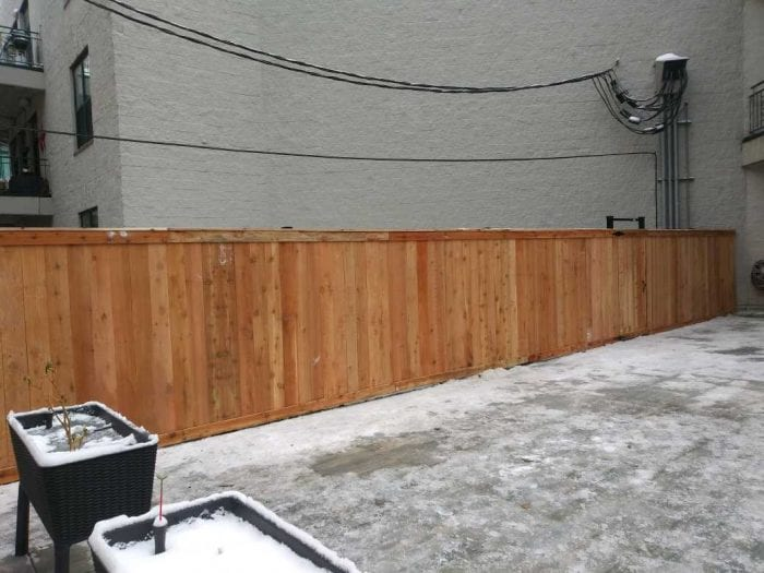 Solid Board Wood Fence Styles-wood fence estimator