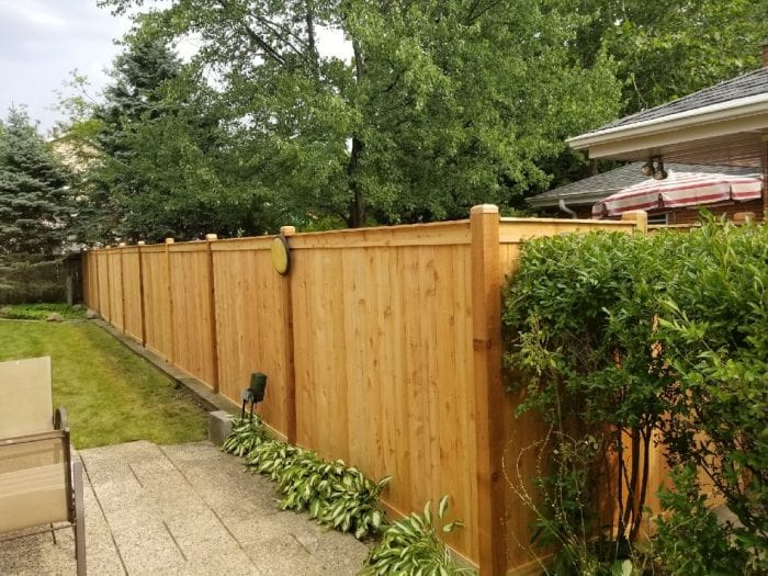 Solid Board Wood Fence Styles-wood fence installation companies