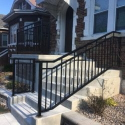 installing wrought iron spindles