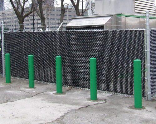 northbrook fence company iron bollards