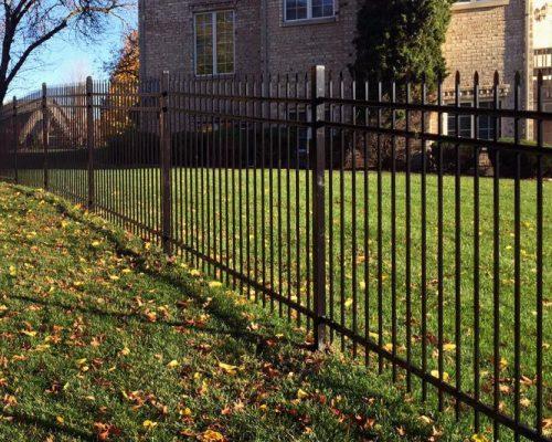northbrook fence company iron fance northbrook