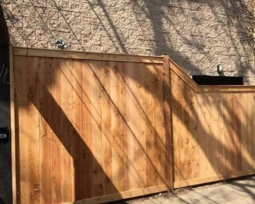 northbrook fence company wood fences