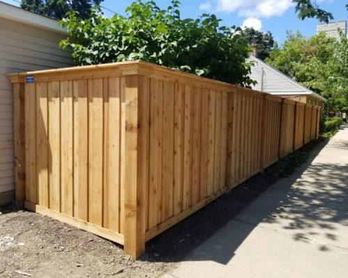 northbrook fence company wood fences2