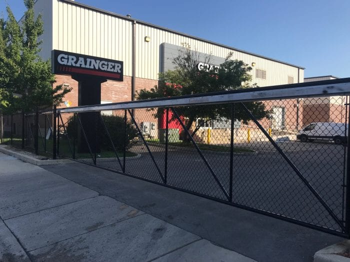 industrial fence installation chicago