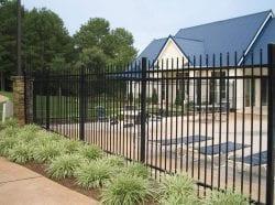 Iron Fences installation chicago