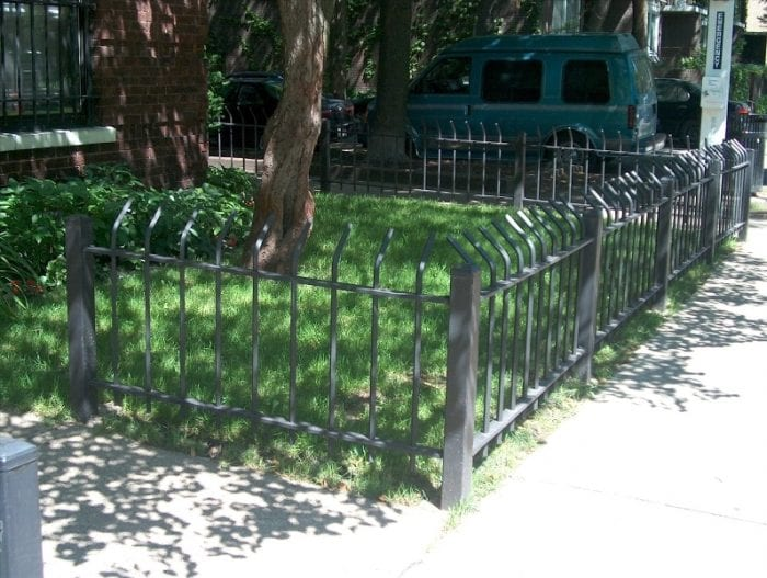 Wrought Iron Fence Company For Parkways Fence Company