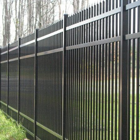 Commercial Aluminum Fences In Chicago
