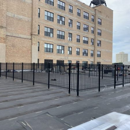 Commercial Roof Guardrail & Fences Chicago