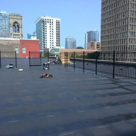 Commercial Roof Railings and Fences Chicago