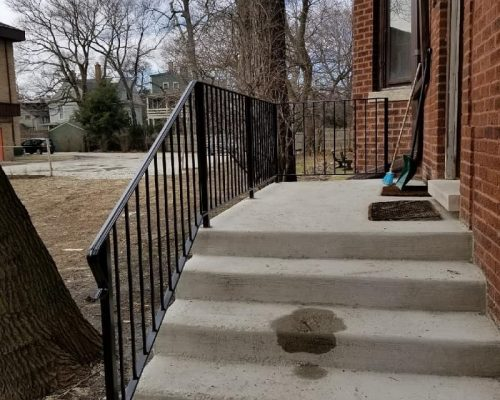 Iron Stair Railing Chicago