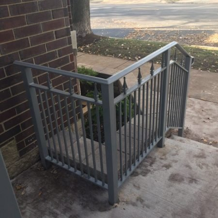 Osceola Chicago Fence Company - Iron Railing 2