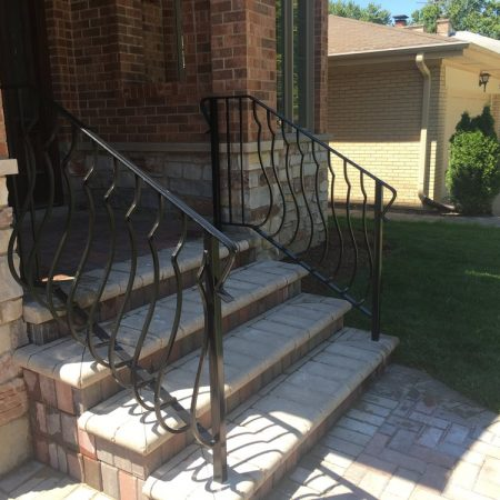 Osceola Chicago Fence Company - Iron Railing 3
