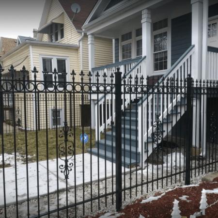 Osceola Chicago Fence Company - Wrought Iron Fence 22