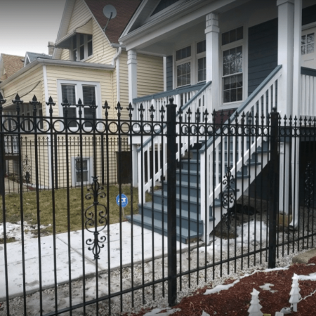 Osceola Chicago Fence Company - Wrought Iron Fence 22
