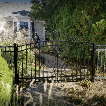 Osceola Chicago Fence Company - Wrought Iron Fence 23