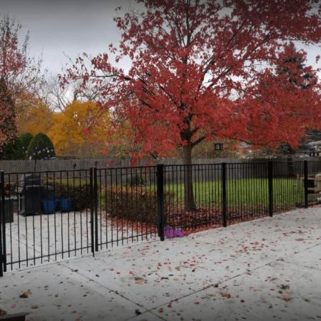Osceola Chicago Fence Company - Wrought Iron Fence 24