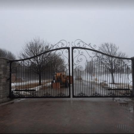 Osceola Chicago Fence Company - Wrought Iron Fence 25