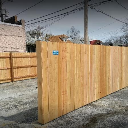 Osceola chicago fence company dumpster enclosure 3