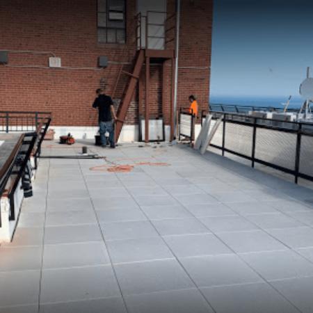 Osceola chicago fence company roof guardrails 1