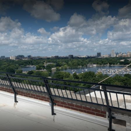 Osceola chicago fence company roof guardrails