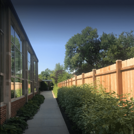 Osceola chicago fence company wood fence 6