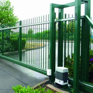 Automatic security gate installation and repair