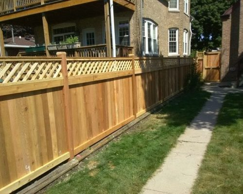 Shadowbox Wood Fence Styles-wood privacy fence panels