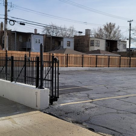 commercial wood fences chicago