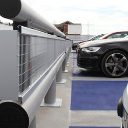 custom parking guardrails chicago