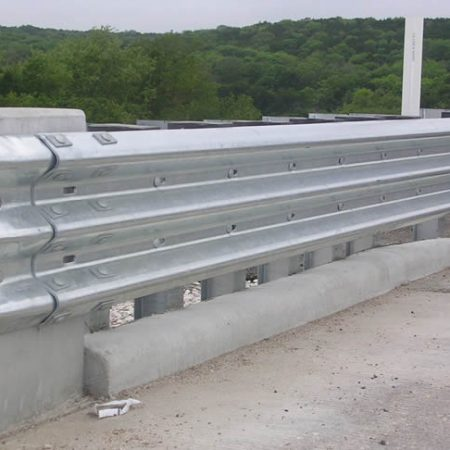 highway bridge guardrails