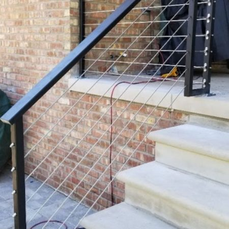 Commercial Railing Fence Contractor Osceola Fence Chicago