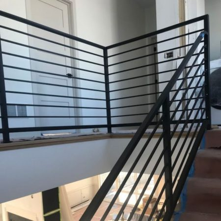 iron railing installation chicago