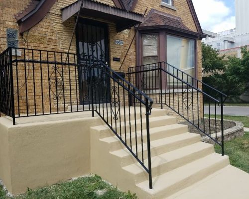 iron stair railings