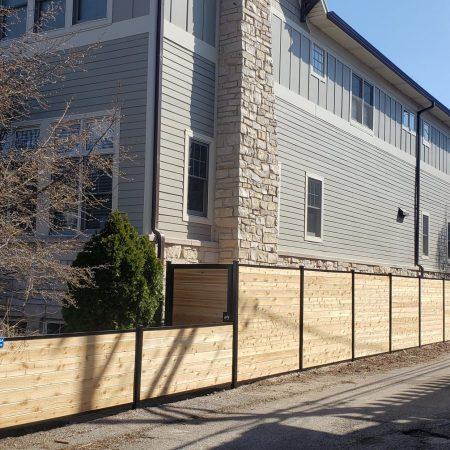 wood fence installation chicago