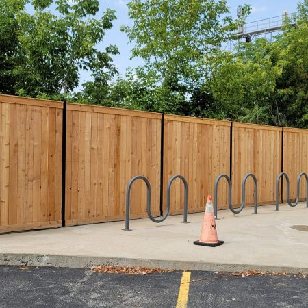 wood fence installation in chicago