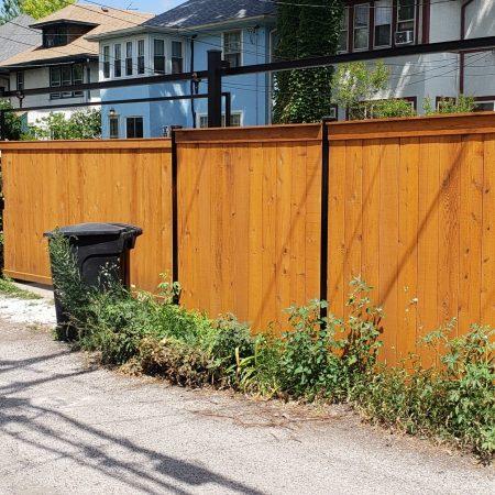 wood fences chicago