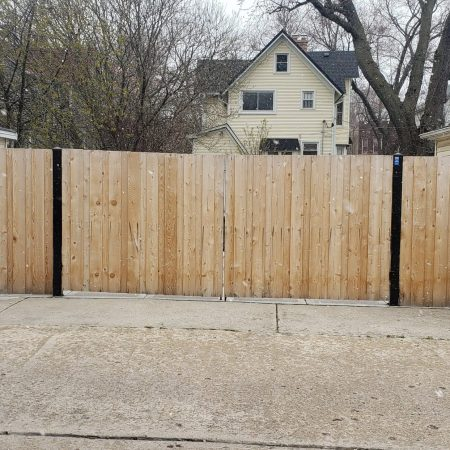 wood fences in chicago illinois