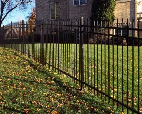 wrought iron fence chicago